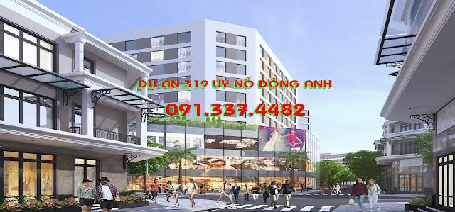 Mở bán Dự án 319 Uy Nỗ Đông Anh khu nhà ở liền kề Uy Nỗ 319 Bộ Quốc Phòng mặt đường Cổ Loa Hà Nội