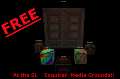 The SL Enquirer: Clean Up Holiday Hits Second Life Again