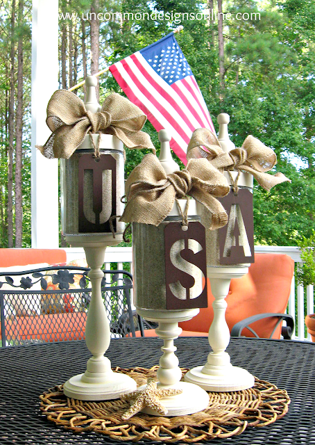 4th of July Apothecary Jars