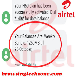 How to activate Airtel 1gb worth of days with N200