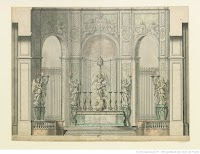 Early Eighteenth Century Designs for the Interior of Notre Dame Cathedral in Paris