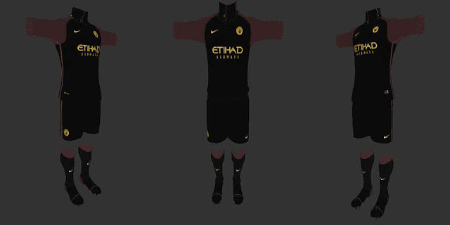 low priced 39c88 cf64a Manchester City Away Kit 2016/17 [PES 2013] - PATCH PES ...