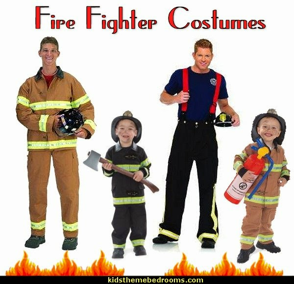 Fire Fighter Costumes-boys Fire Fighter  Costumes-mens Fire Fighter  Costumes