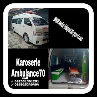 showroom karoseri ambulance