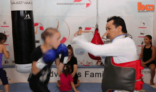 Evnika Saadvakass 9 year old Russian girl boxer