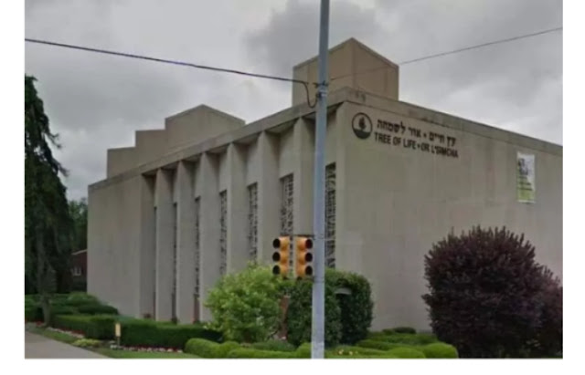 Six left injured as gunman attacks synagogue in pittsburg