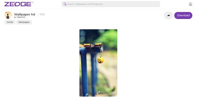 Cara Download Gambar dan Wallpaper di Zedge Tanpa Aplikasi