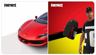 Where are All Ferrari locations in Fortnite Season 7