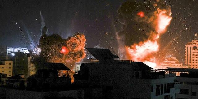 IDF: Israel Jatuhkan 122 Bom Dalam 25 Menit Ke Jalur Gaza