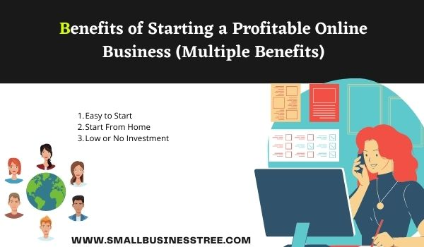 Benefits of Starting a Profitable Online Business