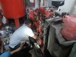 SERVICE ENGINE DIESEL PUMP