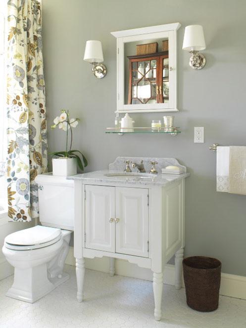 Grey Colour Schemes For Bathrooms