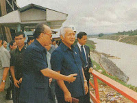 Sejarah Bendungan Tabo-Tabo, Presiden Soeharto dan Swasembada Pangan di Indonesia