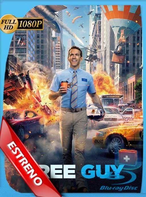 Free Guy: Tomando el Control (2021) BRRip 1080p Latino [GoogleDrive]