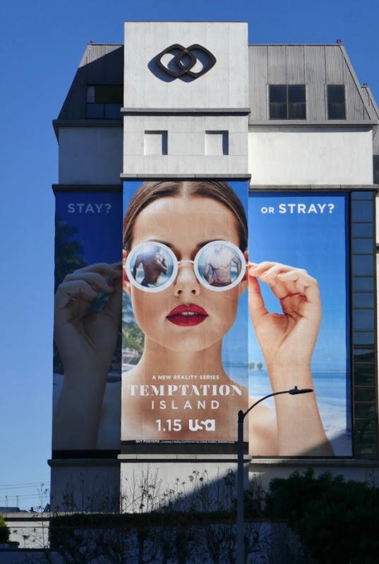 Temptation Island series premiere billboard