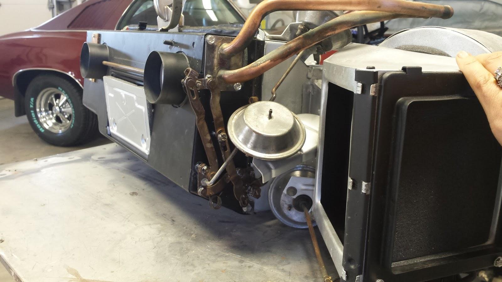 driven restorations 1968 1970 b body mopar heater box with a c rebuild rh  blog drivenrestorations com 1969 Dodge Charger Wiring Diagram 1969 Dodge  Charger ...