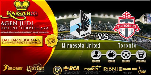 prediksi Bola Jitu Minnesota United vs Toronto 5 juli 2018