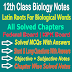 Latin Roots for Biological Words 12 Class Biology Notes