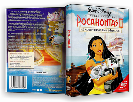 Pocahontas 2 - Uma Jornada Para o Novo Mundo - DVD-R