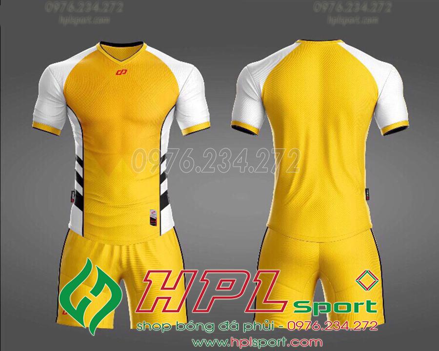Áo ko logo CP Hro màu tím vàng