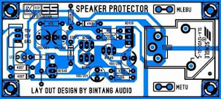PCB Layout Speaker Protector