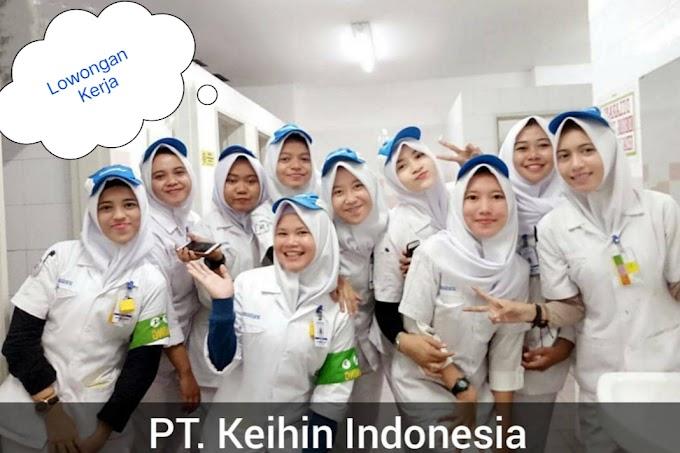 Lowongan Kerja SMA/D3 S1 PT Keihin Indonesia