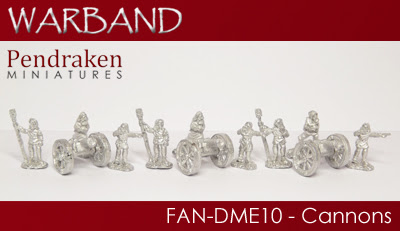 FAN-DME10   3 x Cannons with crew