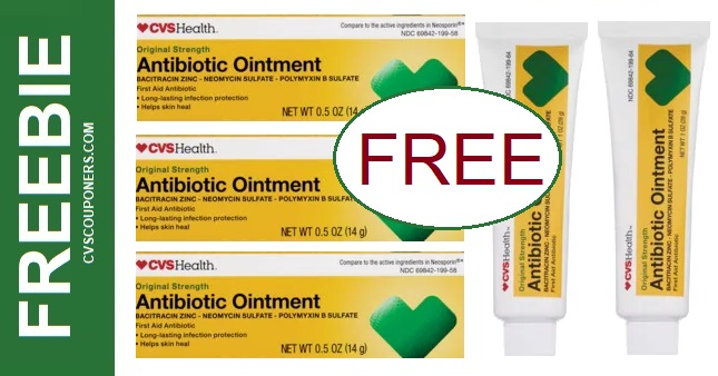 FREE Antibiotic Ointment at CVS