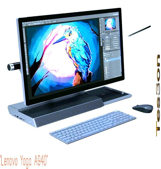 """أفضل كمبيوتر لتصميم الجرافيك """"Lenovo Yoga A940"""""""