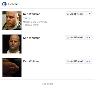"The Many Faces of Ken ""Whit"" Whitman on Facebook"