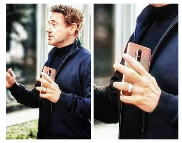 OnePlus 8 Pro appeared in the hands of actor Robert Downey Jr