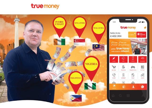Cara Mudah Kirim Uang Dengan TrueMoney