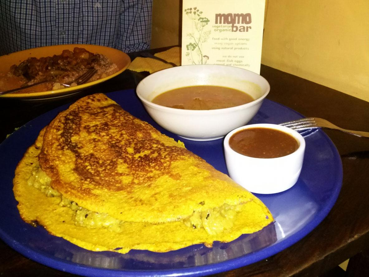 WEGAŃSKI KRAKÓW: Momo - bar wegetariański