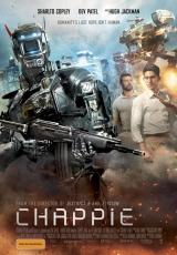 "Carátula del DVD: ""Chappie"""