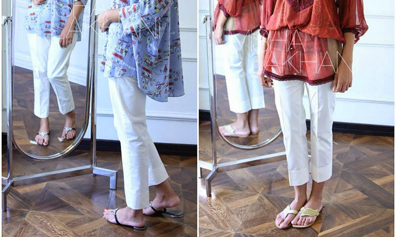 Misha Lakhani Ready to wear trousers - Pakistani designer wear