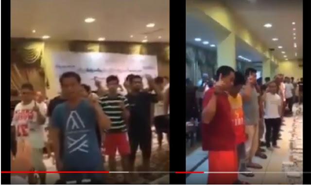 Viral Video 20 Juta Warga Cina Beramai-ramai Membaca Syahadat Masuk Islam Karena Takut Virus Corona