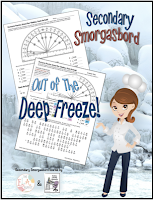 Secondary Smorgasbord: Out of the Deep Freeze