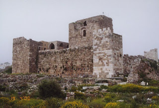 The fortress of Shama'a - the fort of the Crusaders on the shoulders of the Lebanese mountains