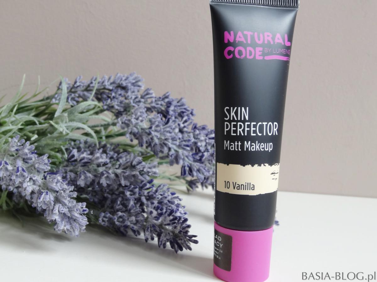 Lumene Natural Code Skin Perfector Matt Makeup - idealny podkład na lato!