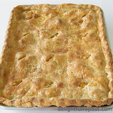 Slab Pie / www.delightfulrepast.com