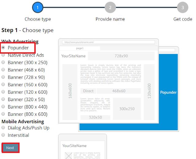 Cara Mudah Daftar dan Pasang Iklan Propeller Ads