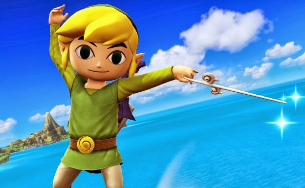 toon link super smash brothers wii u 3ds