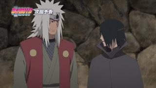 Berdasarkan Sinopsis Boruto 133, Jiraiya Sudah Menduga Siapa Sasuke.