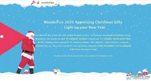 Offre promotionnelle : 17 programmes payants offerts gratuitement pour Noël !
