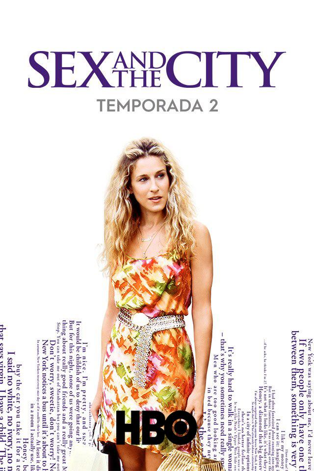 Sex and the City (1999) Segunda Temporada [Remastered] HBO WEB-DL 1080p Latino