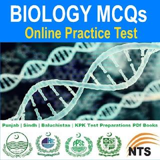 Biology MCQs Online Quiz For MCAT