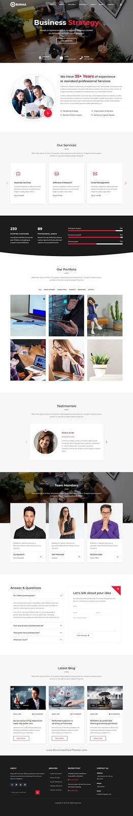 Multipurpose Business and Corporate Template
