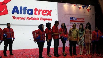 Alfatrex punya pasukan kurir khusus untuk pengantaran barang
