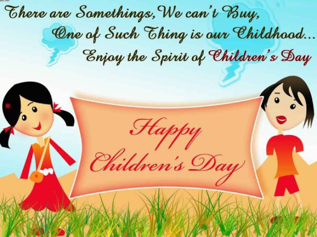 Short Children's day Messages Quotes for 2019