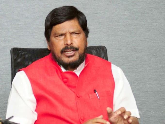 पदोन्नती मध्ये आरक्षणाच्या मागणीसाठी रिपब्लिकन पक्षाचे दि.1 जून पासून राज्यभर आंदोलन - केंद्रीय राज्यमंत्री रामदास आठवले